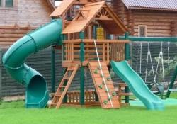 Детская площадка Горец в Рязани