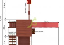 Панда Фани с балконом и сеткой (5)