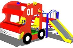 ИМ034-Макет-комплекс-Пожарный