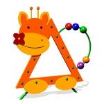 ИМ041-Игровая-панель-Жираф