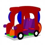 ИМ050-Игровой-макет-машинка-Жук