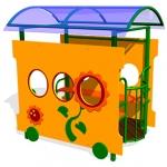 ИМ074-Игровой-макет-Вагон-Подсолнух