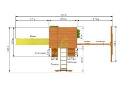 Клубный домик 2 с рукоходом (5)
