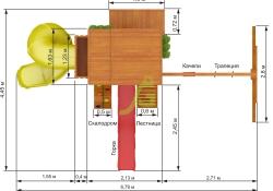 Клубный домик 3 с трубой (6)