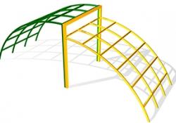 ЭЛ006-Элемент-для-лазания-Мост