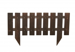 Забор-венге