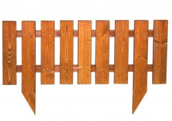 Забор-сосна