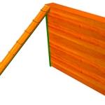 УО003-Препятствие-Забор-с-наклонной-доской