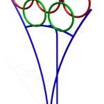 СЭ104-Мишень-Олимпийские-кольца