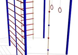 КС022 Спортивно-гимнастический-комплекс-СГК-15
