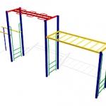 КС004 Спортивно-гимнастический-комплекс-СГК-3