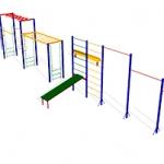 КС005 Спортивно-гимнастический-комплекс-СГК-4