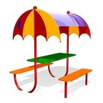 СП072-Стол-с-навесом-Зонтик