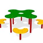 СП073-Столик-детский-Клякса