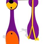 СЭ081-Турник-детский-Мишка