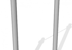 ВА045-Турник-классический-ВА-1800