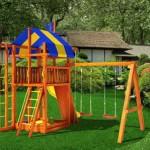 детская игровая площадка из дерева Аляска в Рязани