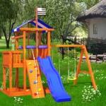 детская игровая площадка из дерева Бретань в Рязани
