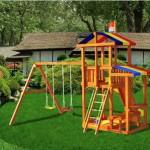 Детская игровая площадка из дерева Кирибати в Рязани