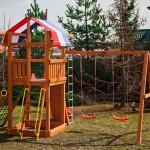 Детская площадка для дачи Тасмания (Самсон, Россия)