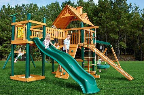 Гулливер, детская площадка в Рязани