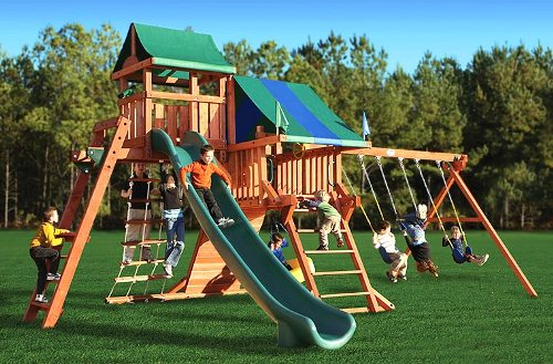 Огромная детская площадка, купить в Рязани