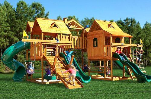 Большая детская площадка из США