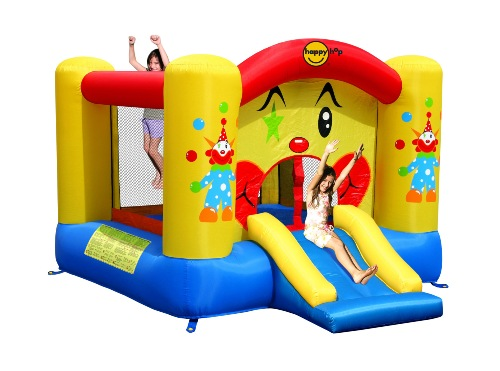 Забавный клоун, надувной батут в Рязани