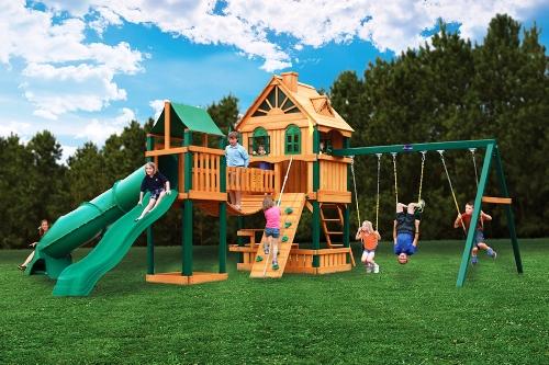Атлант, большая детская площадка в Рязани