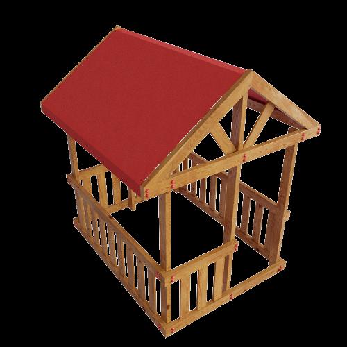 Детский домик Гоа с натяжной крышей в Рязани