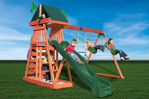 Детский игровой комплекс для дачи Лучик в Рязани
