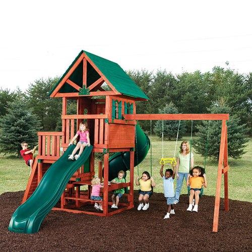 Маугли, детская площадка для коттеджа в Рязани