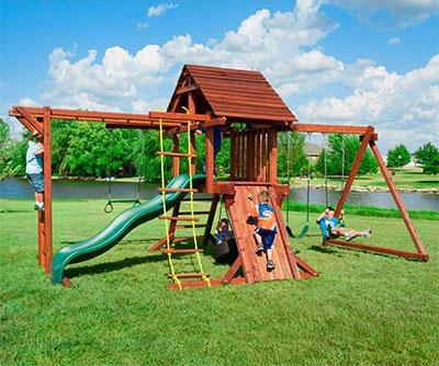Пикник, детский игровой комплекс
