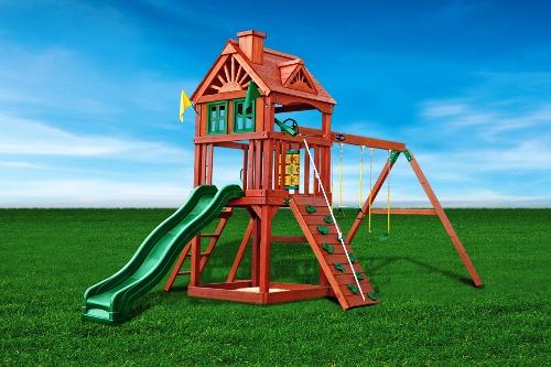 Игровой комплекс Зеленый замок - купить в Рязани детскую площадку из США