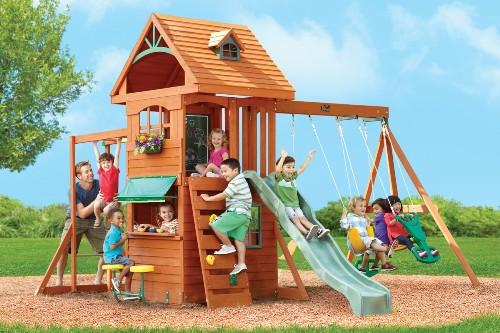 Купить детский игровой спортивный комплекс в Рязани
