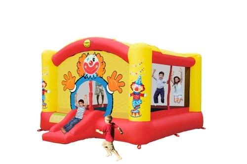 Купить детский надувной батут Мега клоун