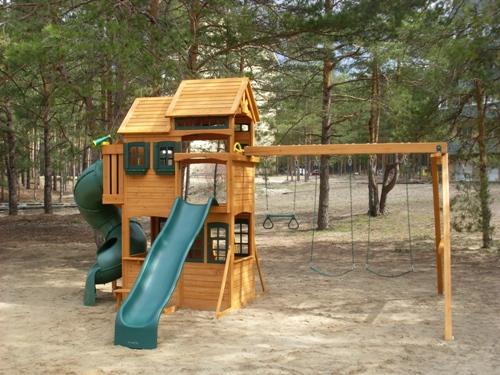 Детская площадка Панорама, США