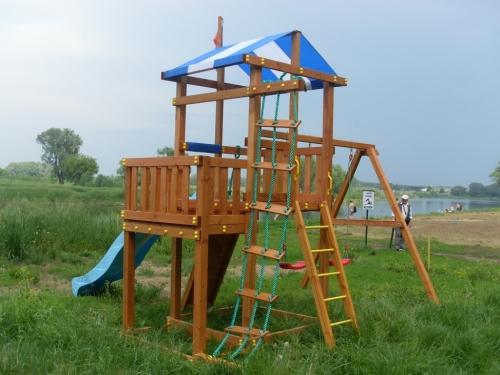 Детская площадка Самсон на Орешке в Рязани