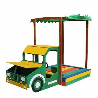 Купить песочницу машинка-грузовик в Рязани
