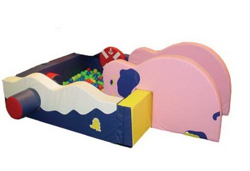 Купить детский сухой бассейн Дельфин в Рязани
