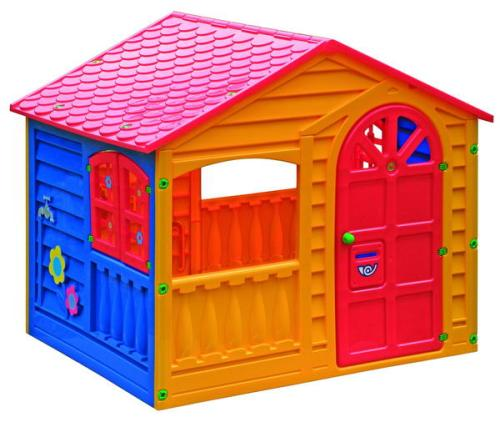 Пластиковый домик Веселый коттедж