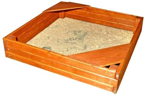 Купить песочницу с лавочками и крышкой в Рязани