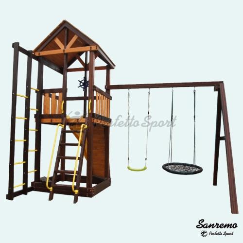 Купить детский комплекс для коттеджа в Рязани