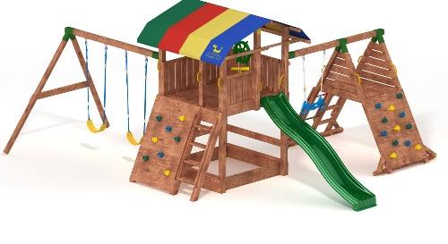Детский игровой комплекс Корабль купить в Рязани