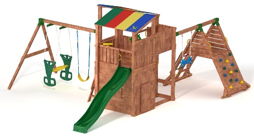 Купить детский комплекс Игровое королевство в Рязани