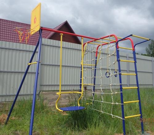 Детская площадка из металла Пионер Юла (Россия)