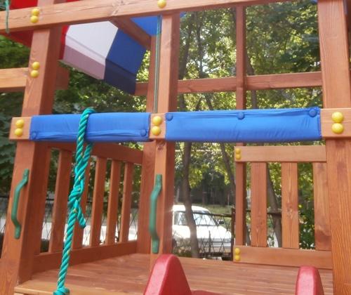 Крыша для детской площадки - триколор