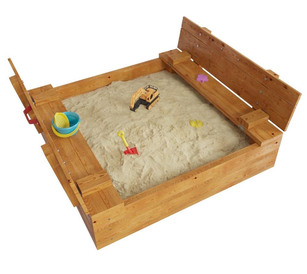 Песочница с крышкой деревянная в Рязани