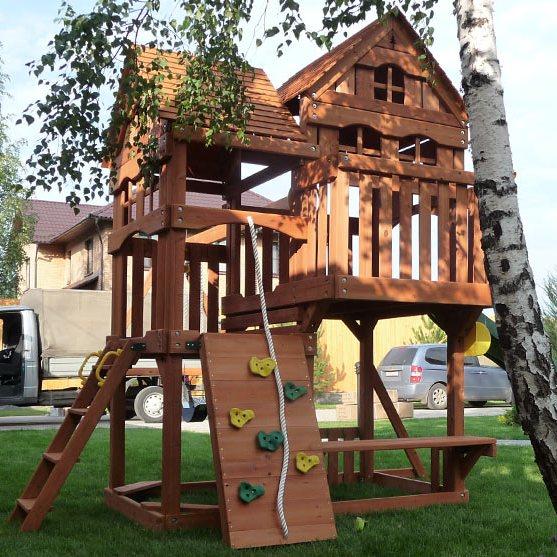 Детская площадка Панорама в Рязани