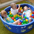 Мягкий сухой бассейн с шариками в Рязани